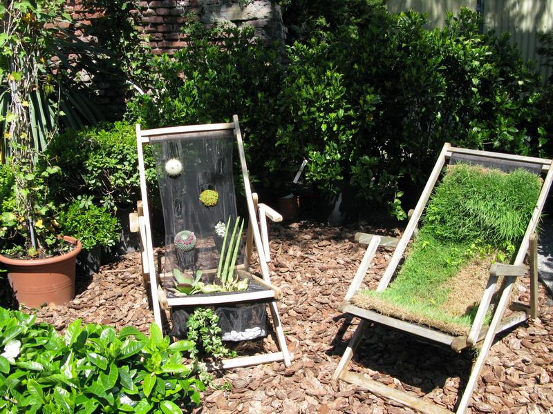 Riciclo creativo giardini in viaggio for Orto pensile fai da te