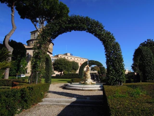 Giardini romani seconda parte i giardini del vaticano di for Disegnare giardini