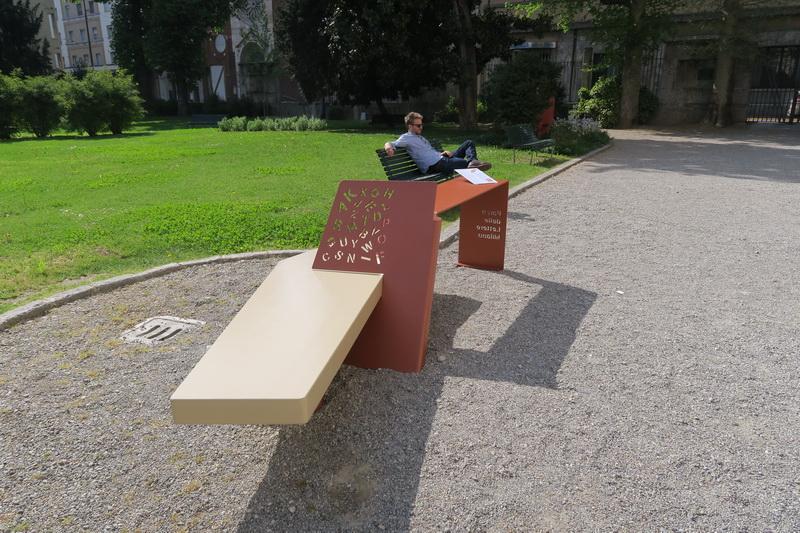 Parco delle lettere di Milano: il concorso degli arredi da esterno ...