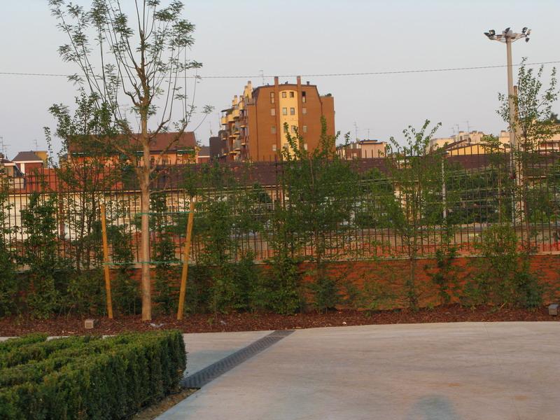 Il giardino di Marco Bay al nuovo Hangar Bicocca (pubblicato su VerDiSegni informa N. 2, 2010)