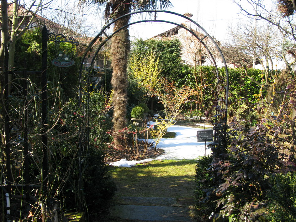 Un bel giardino da gustare in inverno