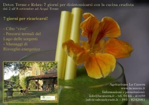 Detox Terme e relax a La Cassera, piccola locanda di campagna vicino ad Acqui Terme