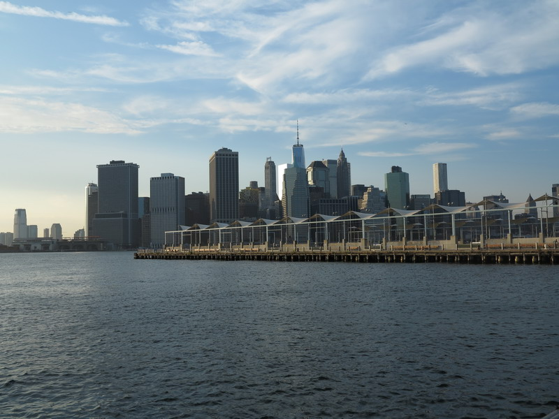 New York: water front