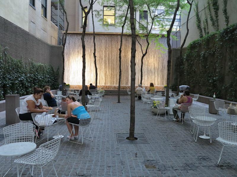 New York: piazzette