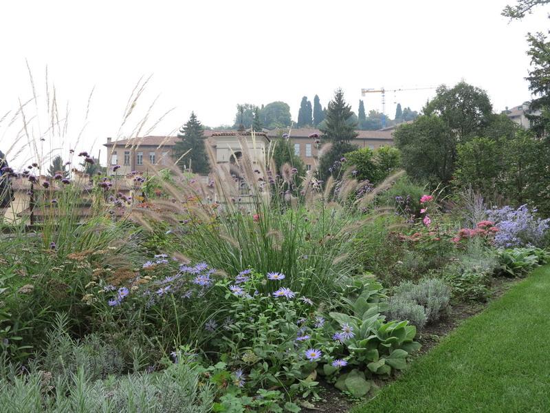 Un piccolo giardino a Bergamo alta