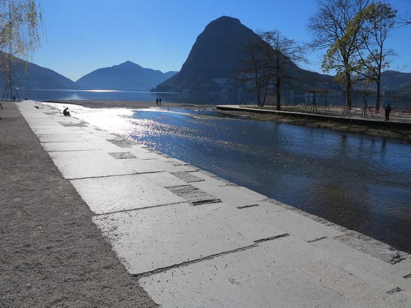 La foce del fiume Cassarate a Lugano: intervento paesaggistico di Sophie Ambroise