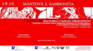 """Convegno Internazionale di Studi """"Spazi pubblici e paesaggi urbani ereditati. Strategie e strumenti nelle esperienze nazionali e internazionali"""""""