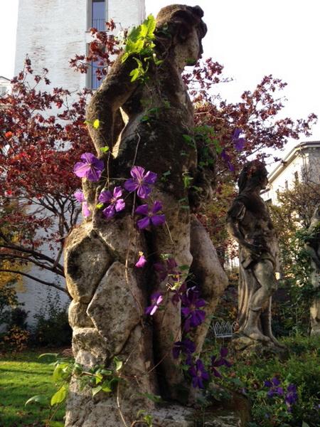 Il giardino di casa Atellani e la vigna di Leonardo