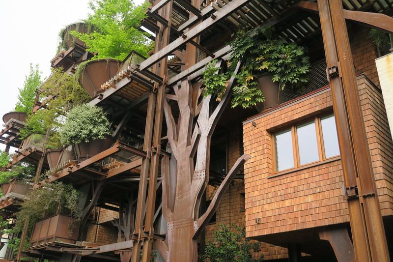 Una casa albero a Torino