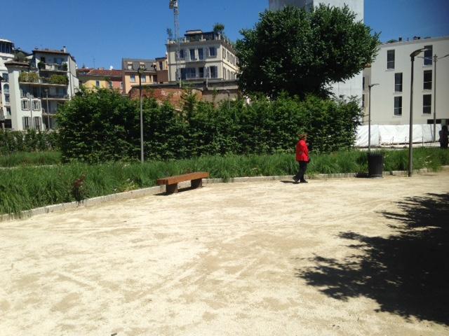 Un piccolo giardino pubblico firmato Antonio Perazzi