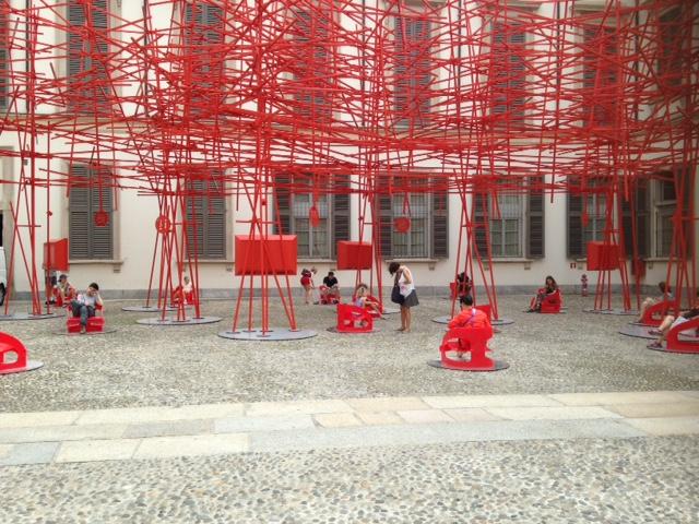 Installazioni a Palazzo Reale