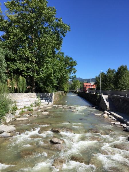 Lugano: intervento paesaggistico alla foce del fiume Cassarate