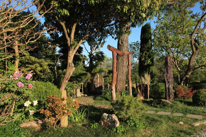 Il giardino zen di Erik Borja su Giardino Antico