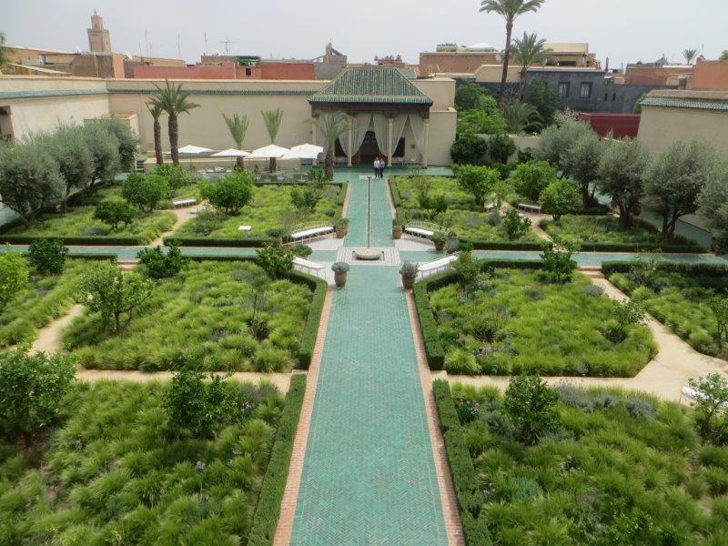 Un giardino segreto nel cuore di Marrakech firmato dal paesaggista inglese Tom Stuart-Smith