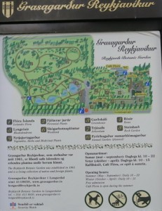 Islanda: il giardino botanico di Reykjavik
