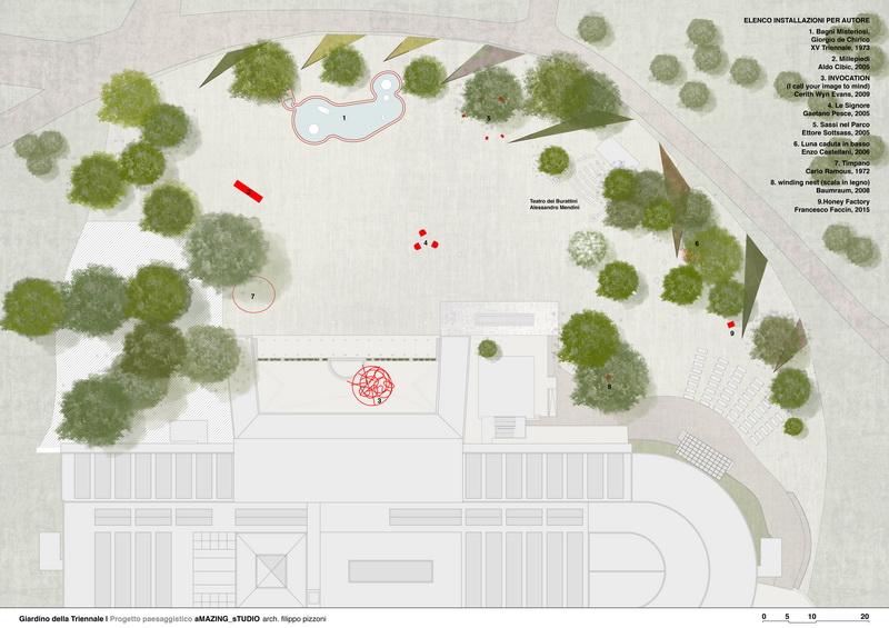 Tavoli Da Giardino Dwg.Orticola Rilancia Il Giardino Della Triennale Giardini In Viaggio