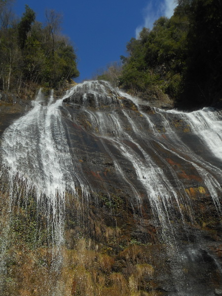 Cascata dell'acqua pendente. Foto di Flavia de Petri