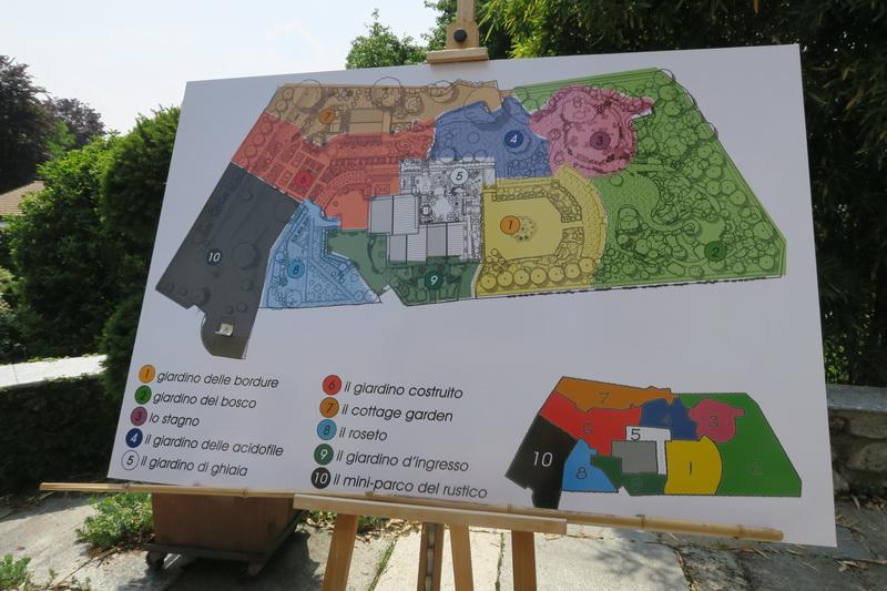 Il giardino di Poggio Castello di Piero Sierra nella campagna comasca