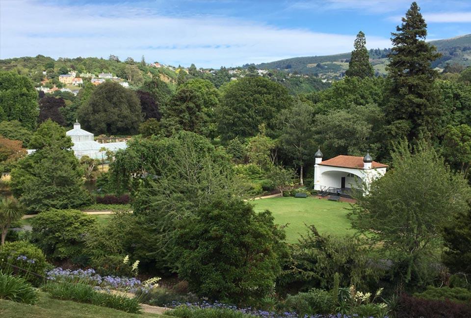 Nuova Zelanda. 4 Botanical gardens