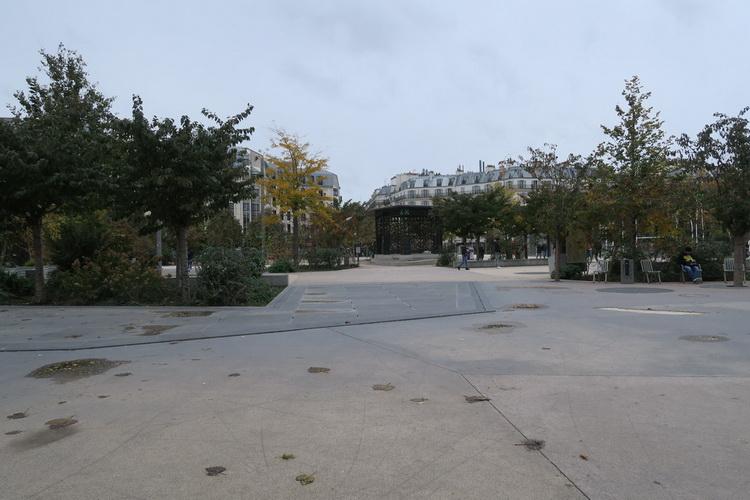 Jardin Mandela, Forum les Halles