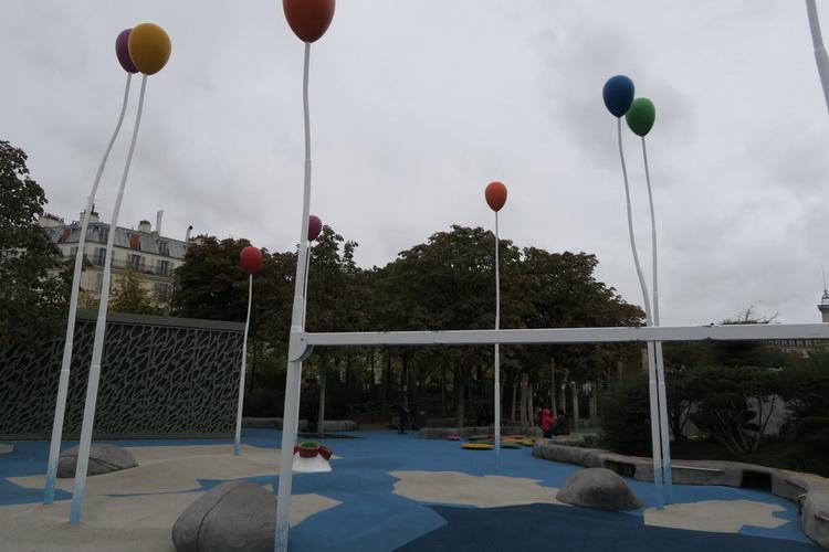 Jardin mandela, area giochi