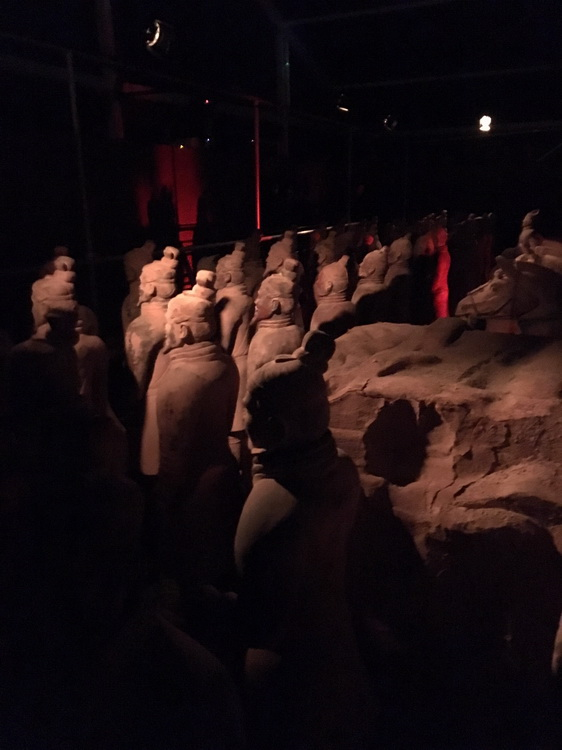 esercito di terracotta, arte cinese