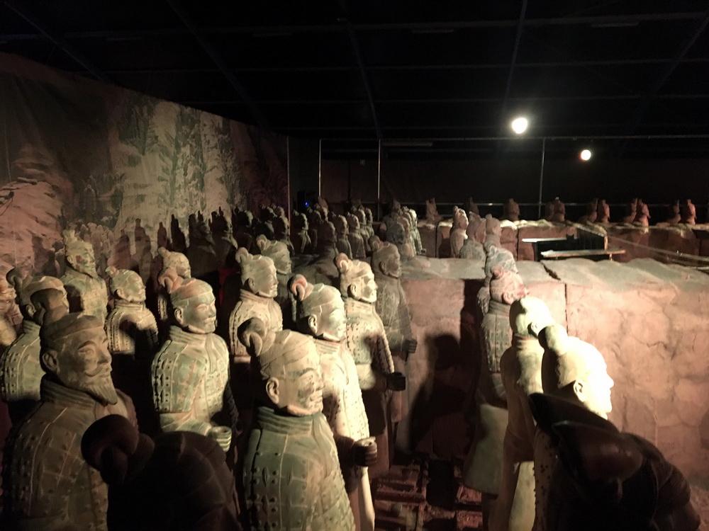 arte cinese, esercito terracotta