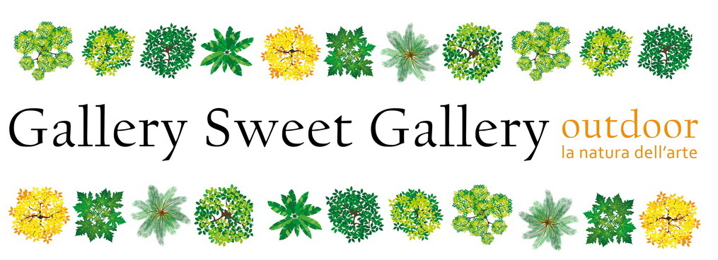 Gallery sweet gallery outdoor. Quarta biennale di arte ambientale all'aperto