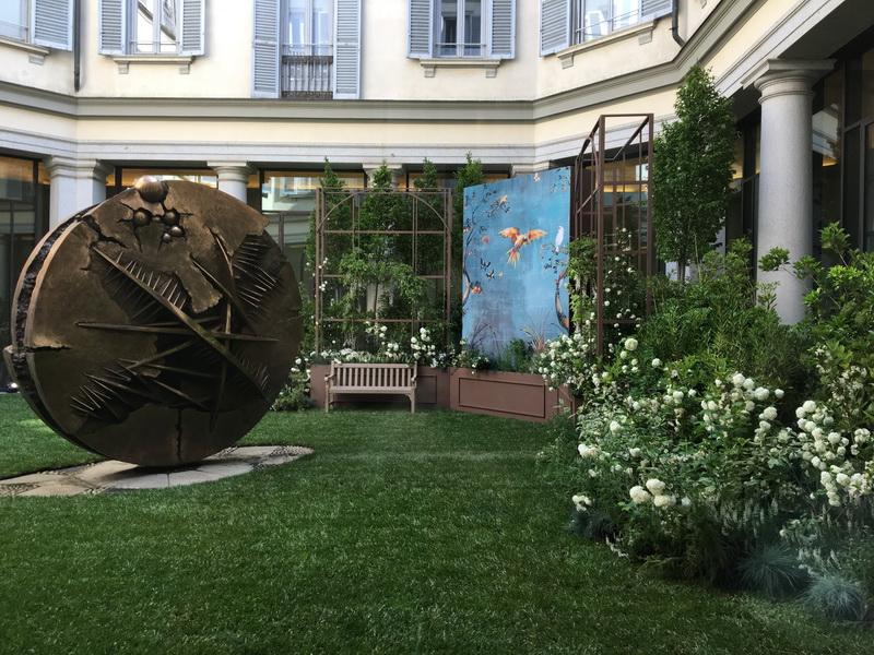 Secret garden alle Gallerie d'Italia e Giardino di Alessandro Manzoni