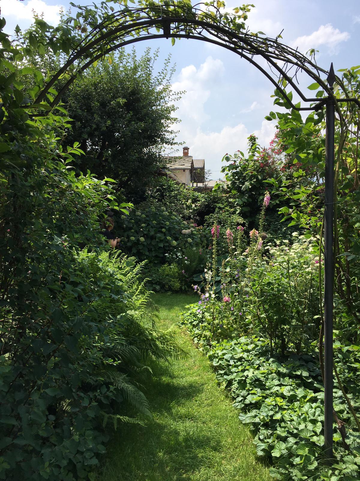Il giardino di Rosanna Castrini a Bricherasio (TO)