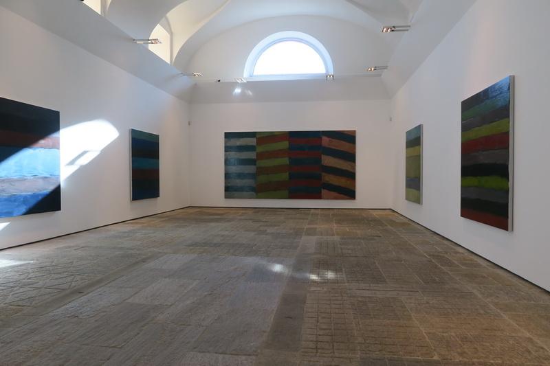 Ritorno a Villa Panza per la mostra di Sean Scully